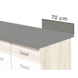 PANEL PRZYŚCIENNY BROWN 70 cm