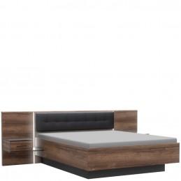 Stelaż łóżka z szafkami...