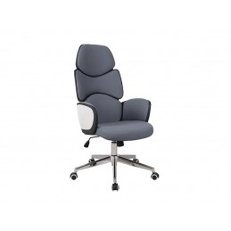 Fotel obrotowy Q-888 szary
