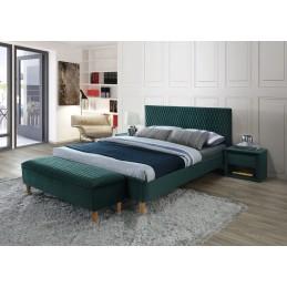 Łóżko Azurro Velvet 160x200