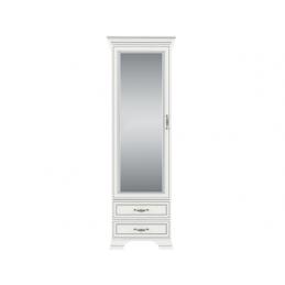 Regał z lustrem Tiffany 1d2s